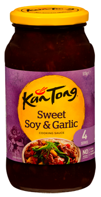 Cooking Sauces 4 Person Sweet Soy & Garlic Cooking Sauce